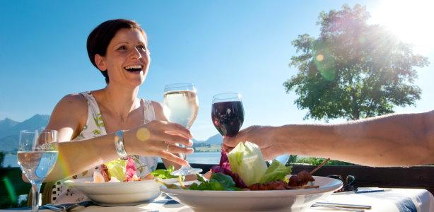 Gesunde Ernährung im Restaurant
