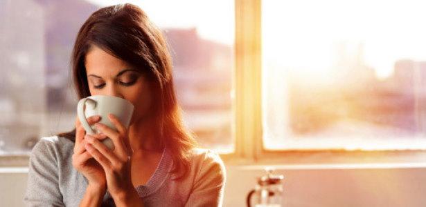 Gesund leben - Kaffee trinken