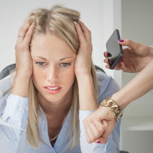 Wenn durch Stress der Burnout droht