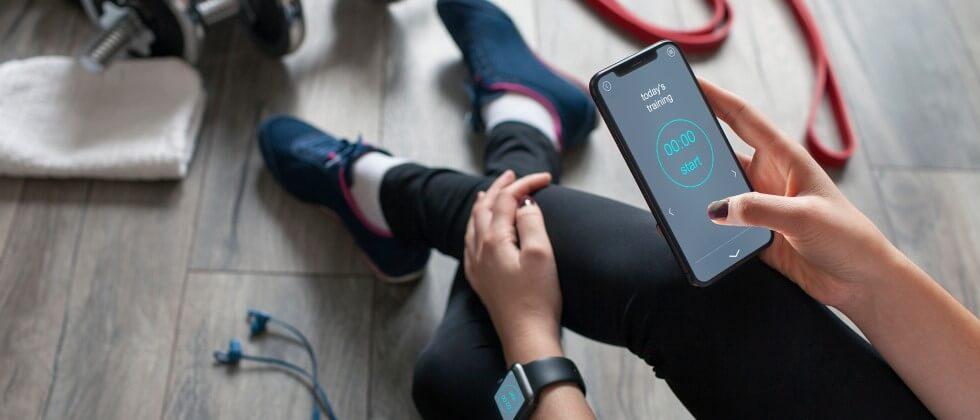 Fitness App für Dein Training