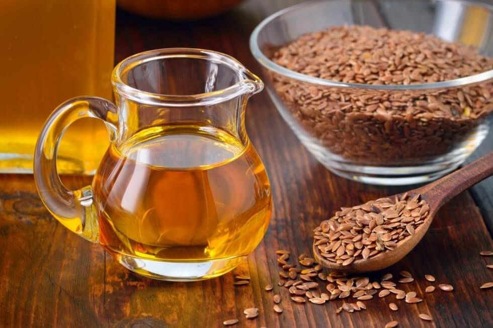 Leinsamenöl mit Omega 3 Fettsäuren